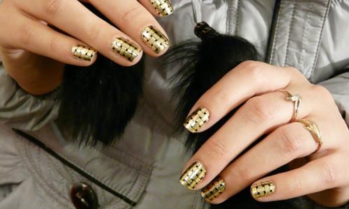Голливудский дизайн ногтей