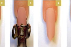 Технология наращивания ногтей по форме