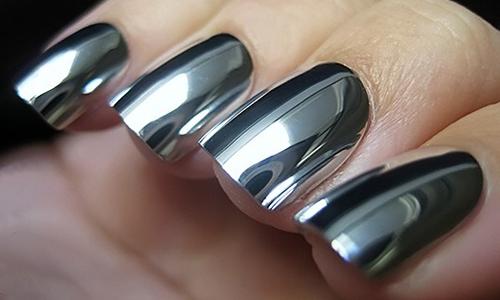 Зеркальная лак пленка для ногтей