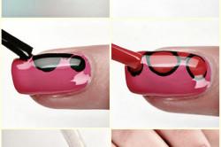 Этапы дизайна коротких ногтей