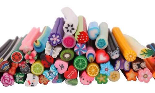 Фото 1. Ассортимент фимо для ногтей