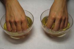 Ванночки для рук с оливковым маслом