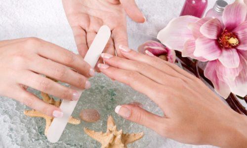 Придание формы коротким ногтям