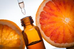Грейпфрутовое эфирное масло для ногтей
