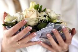 Свадебный френч белый с  блестками
