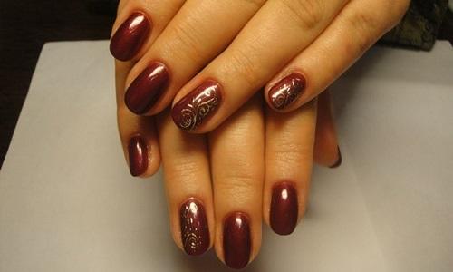 Особенности дизайна миндалевидной формы ногтей