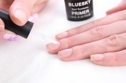 Использование праймера для ногтей