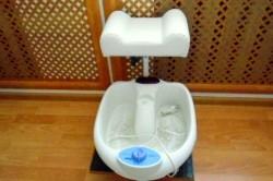 Подставка под ноги для педикюра с ванночкой