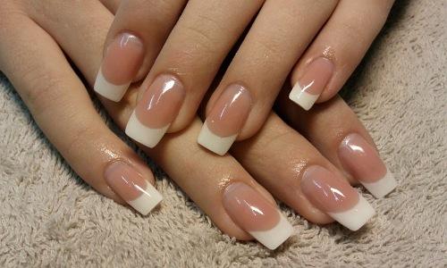 Наращенные ногти гелем