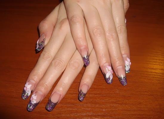 Какой бывает френч на ногтях