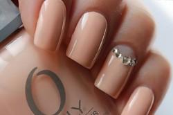 Маникюр в стиле Nude на длинные ногти