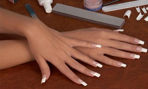 Элегантные нарощенные ногти