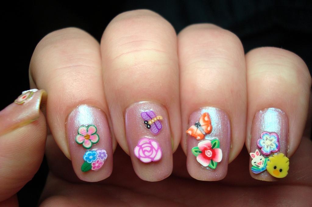 Фимо для дизайна ногтей