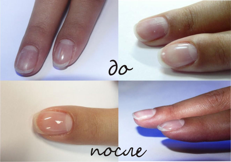 работа с биогелем для ногтей