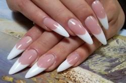 Красивые ногти миндалевидной формы