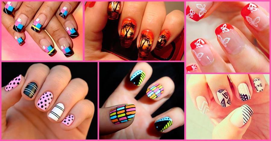 Маркер дизайн ногтей