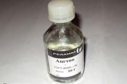 Вред ацетона для искусственных ногтей